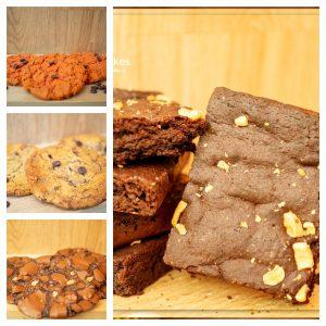 Cookies en Brownies