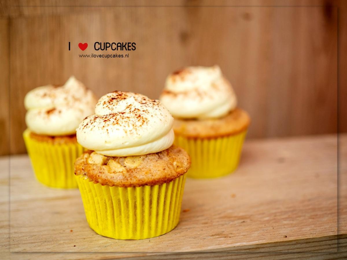 Applepie Cupcake