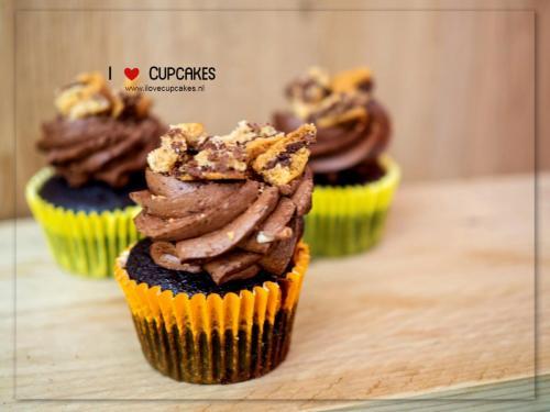 Chocoalte chip cookies Cupcake