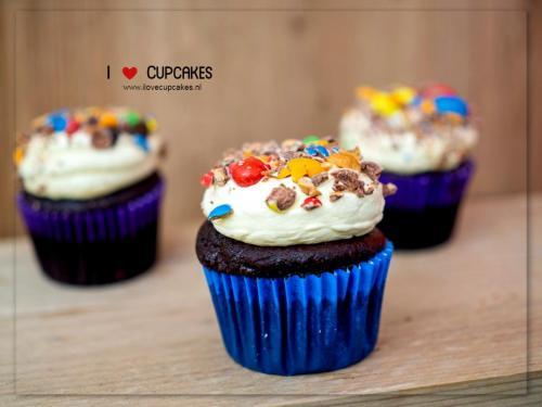 M & M's Cupcake