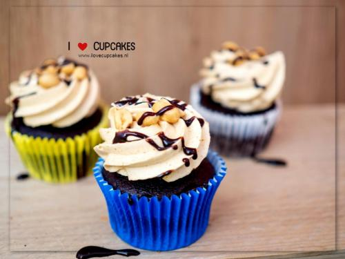 Peanut butter love Cupcake